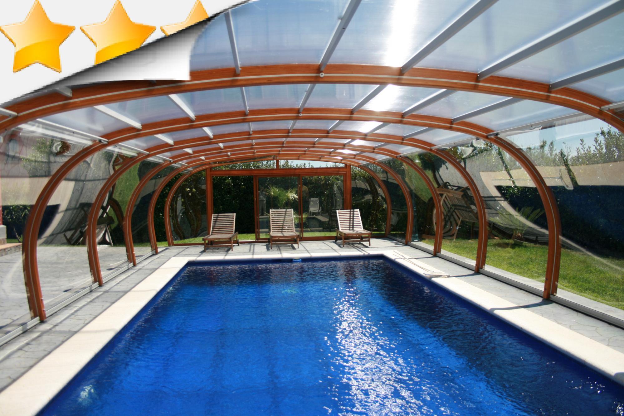 Vente abri de piscine par lpc for Abri de piscine espagne