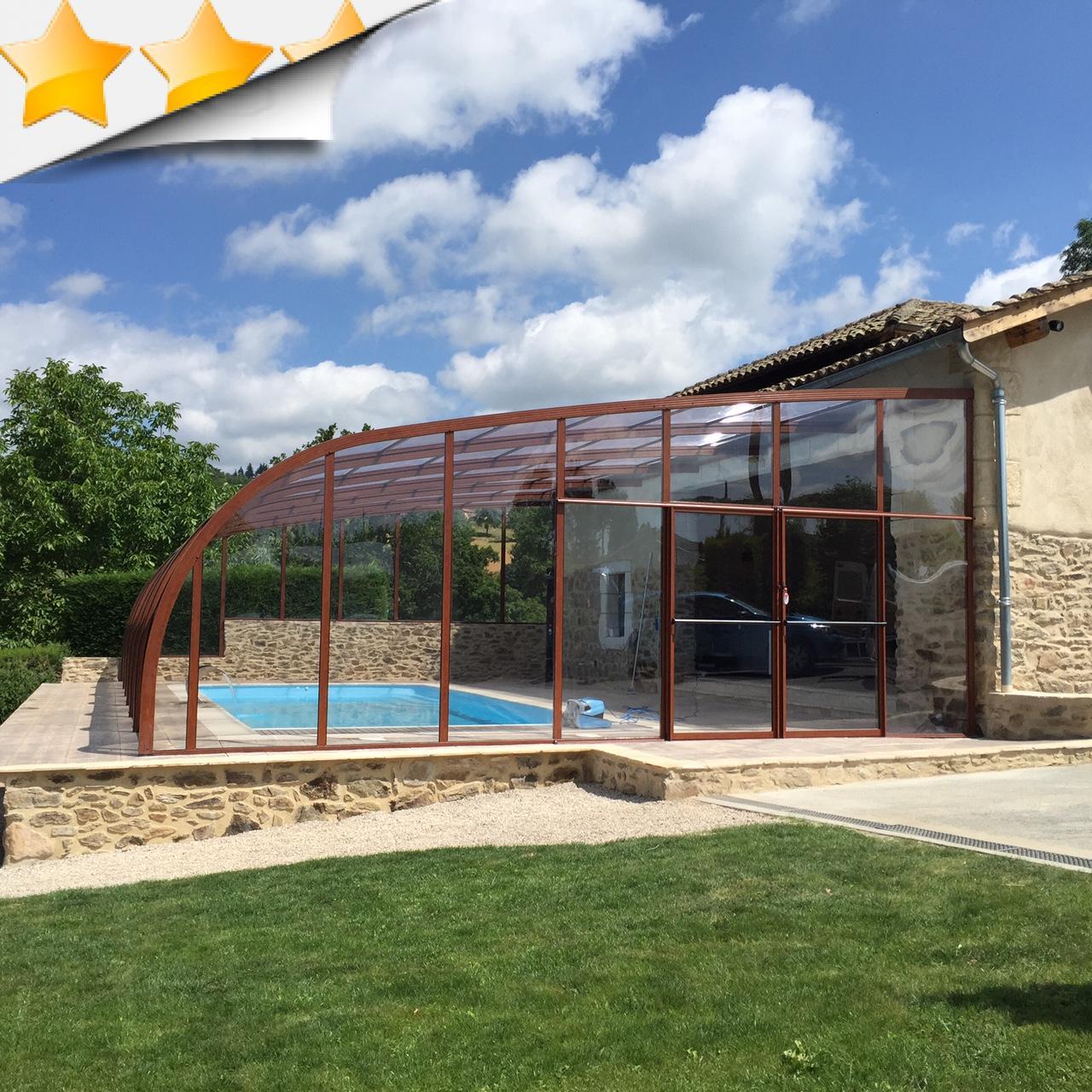 Vente abri de piscine par lpc for Abri de piscine bulle