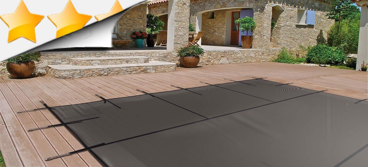 Couverture protection de piscine