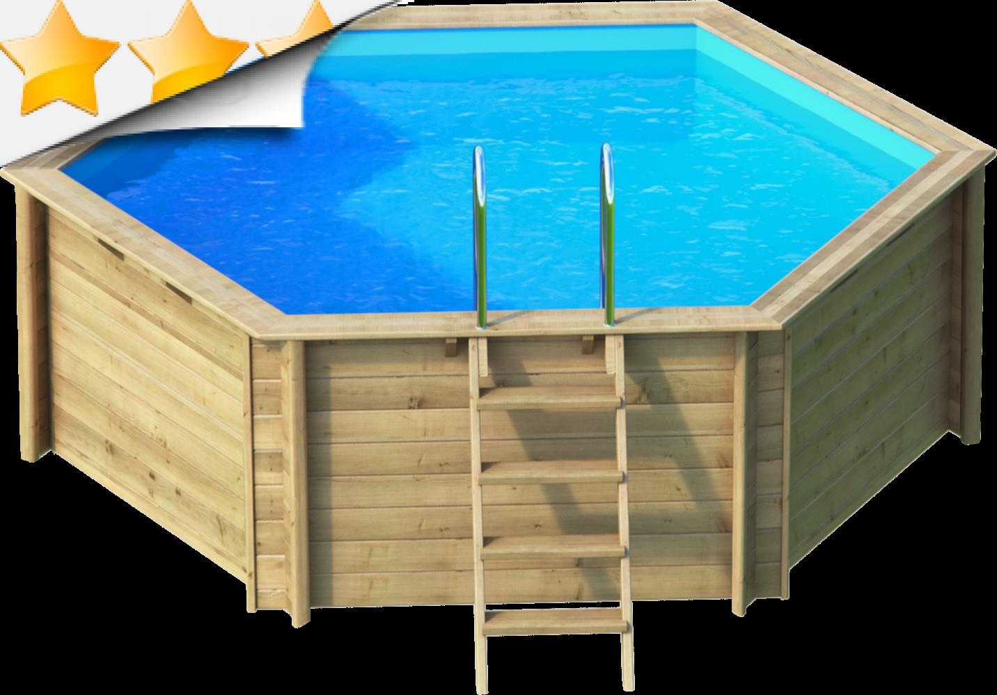 tropic hexa 410 piscine hexagonale