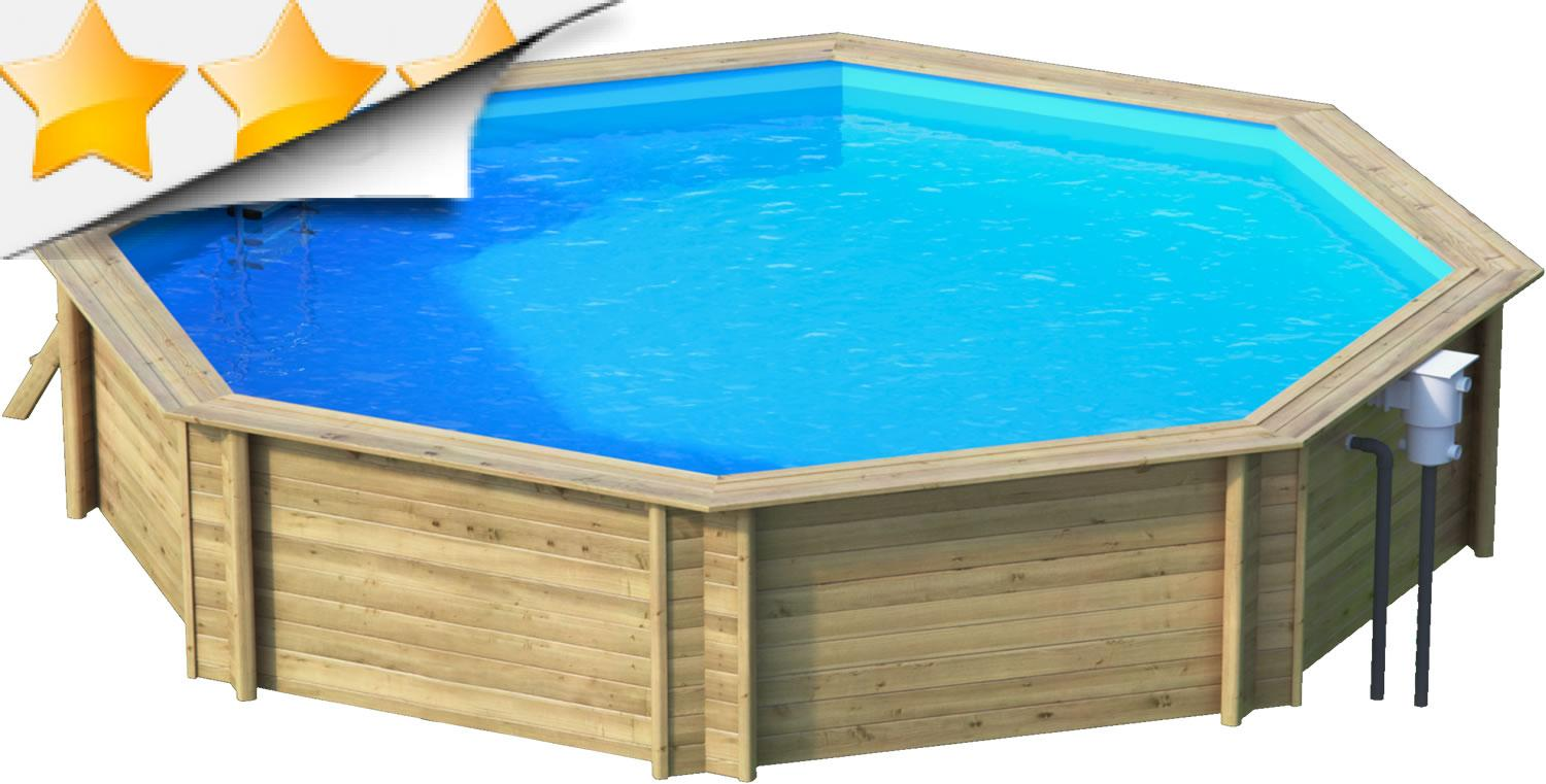 Achat piscine bois tropic par lpc for Piscine tropic octo 414