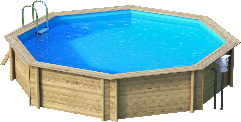 odyssea octo 530 piscine bois odyssea par lpc. Black Bedroom Furniture Sets. Home Design Ideas