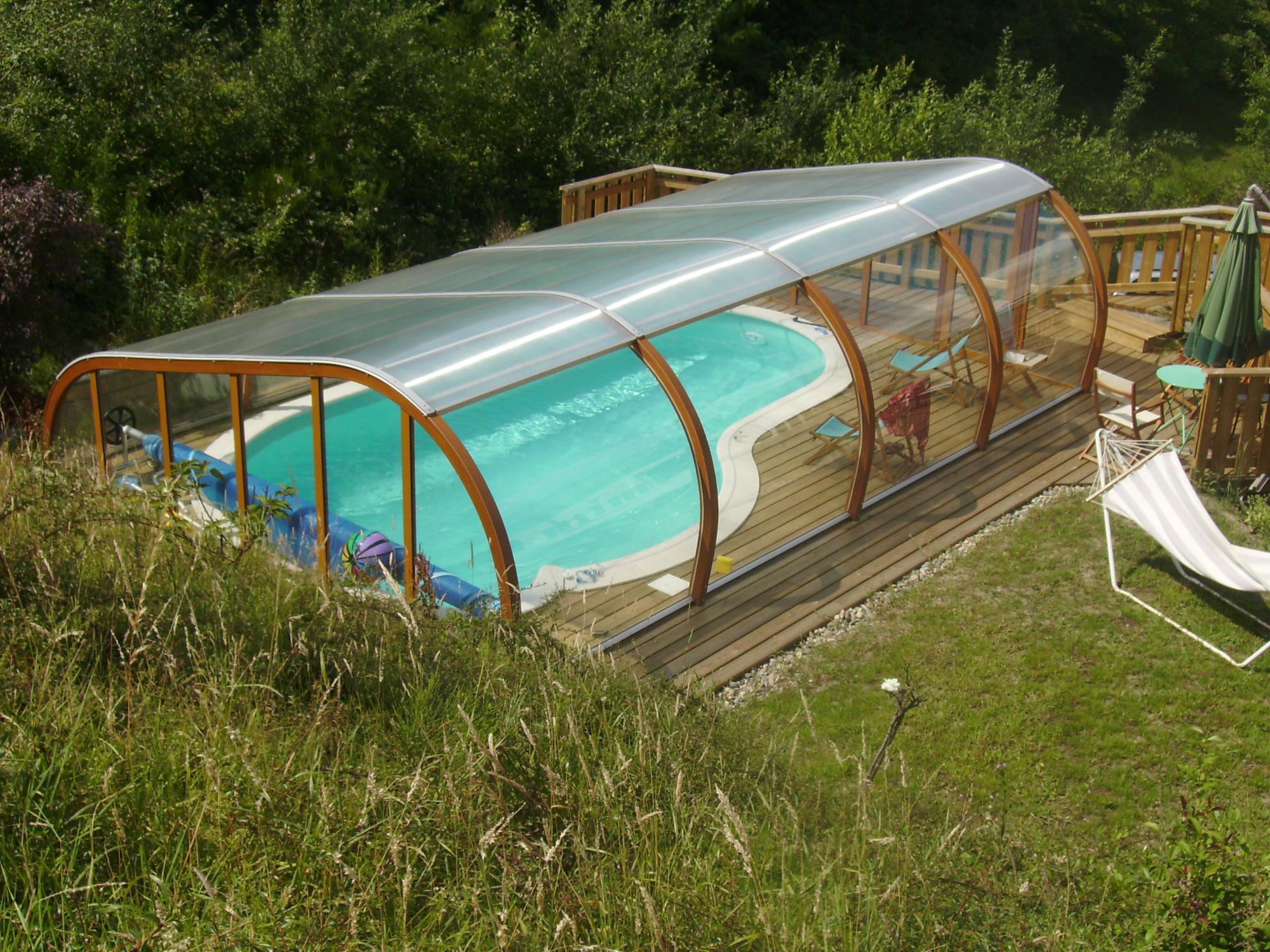 abri piscine bois 39 el gance 39 s curit par lpc. Black Bedroom Furniture Sets. Home Design Ideas